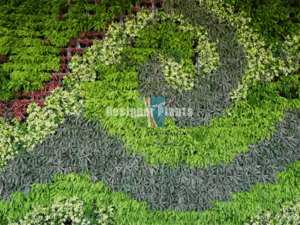 Wall garden design multi pattern