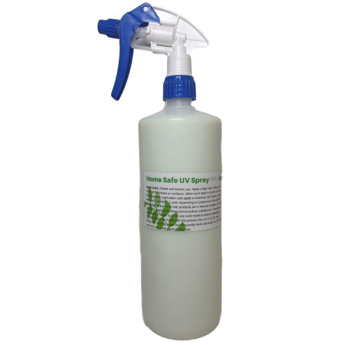 home safe uv spray for fake plants