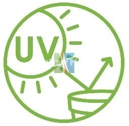 UV protection logo