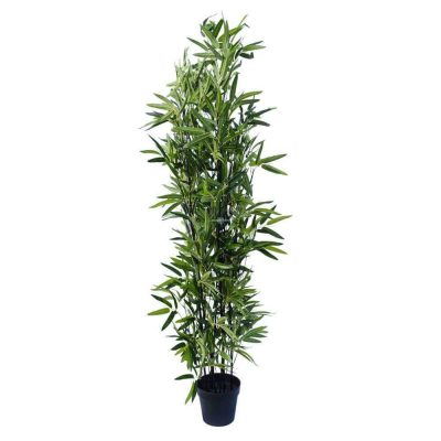 180cm real touch artificial black bamboo plant (1)