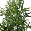 artificial bamboo plant leaves