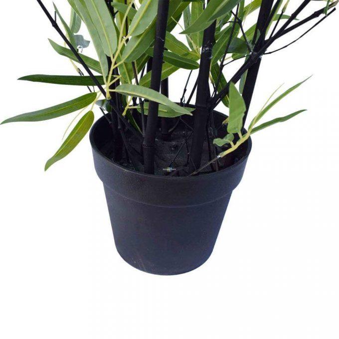 160cm artificial (fake) black bamboo