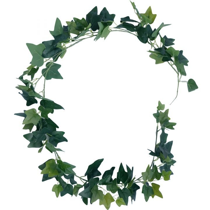 Ivy Garland with mixed greens of ivy leaves