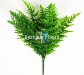 Artificial 60cm fern