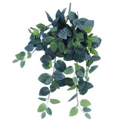 Artificial Fittonia Hanging Garland Bush 80cm