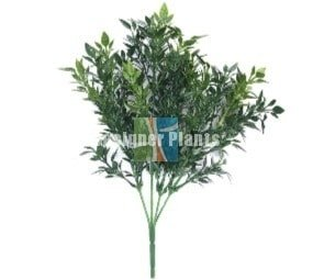 Boxwood Stem UV 30cm Green Wall Insert