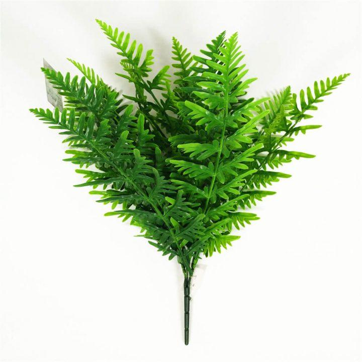 Artificial fern bush
