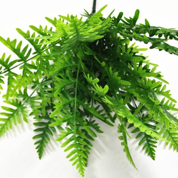 Artificial fern bush 60cm
