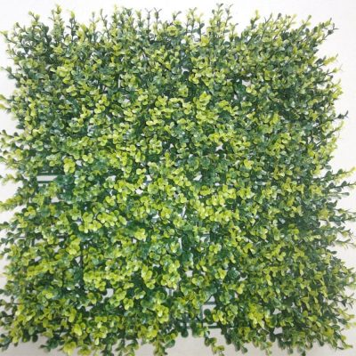 Artificial Plant - Super Clearance Yellow Buxus Mats Hedge / Panels UV Resistant 100cm x 100cm