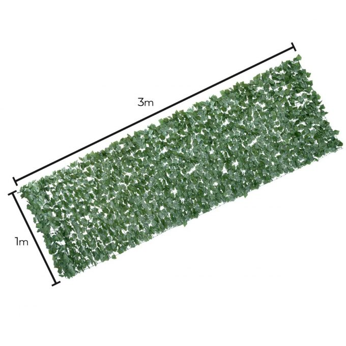 Artificial Plant-Double Sided Ivy Rolls 3m x 1m