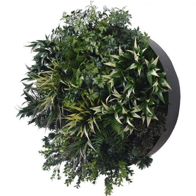 Artificial plant wall art
