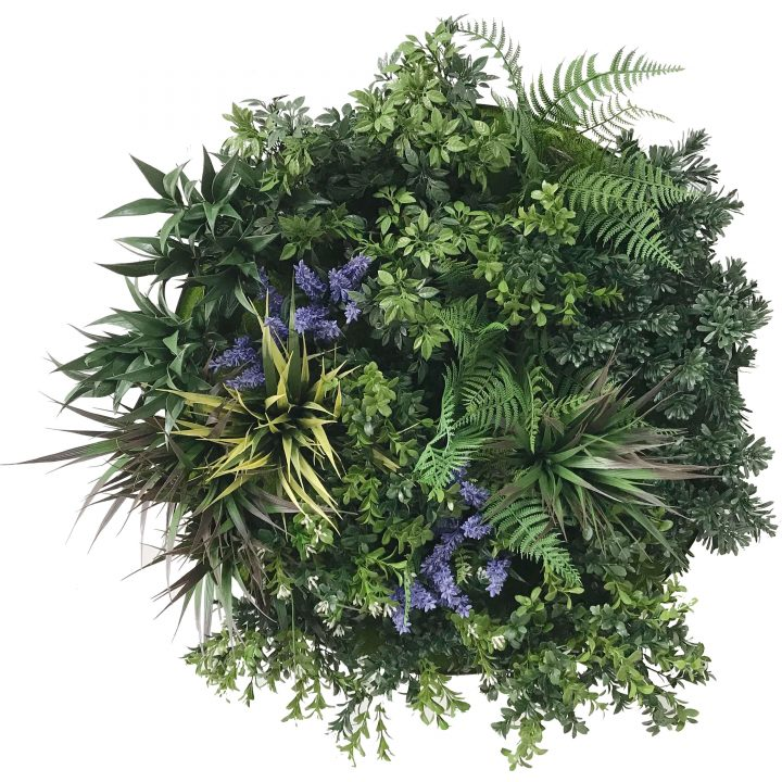 60cm Lavender Disc - Artificial Plant Arrangement