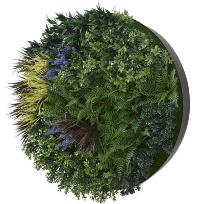 lavender green wall disc