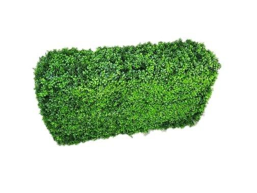 Artificial Plant-Deluxe Portable Buxus (Bright) UV Resistant 100cm Long x 50cm High x 25cm Wide