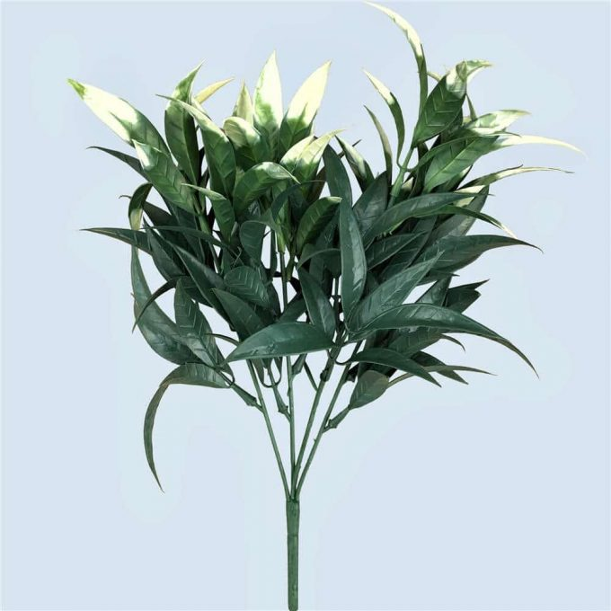 Artificial green wall plant wall stem / small plant