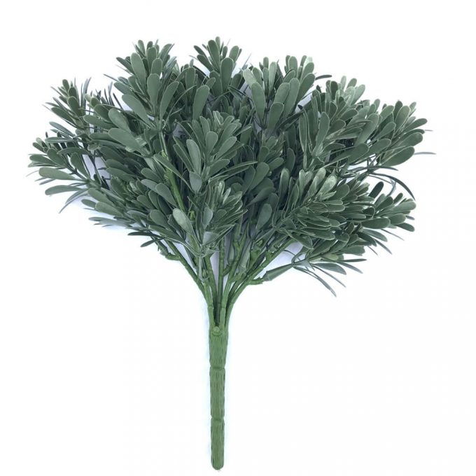 DLVS-28 23CM UV Fireproof Artificial Cypress leaf Bush