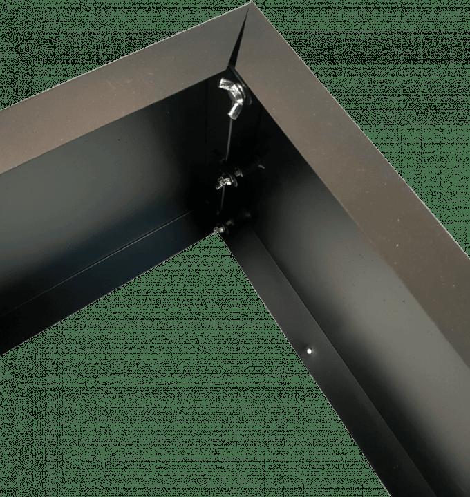 Black planter internal