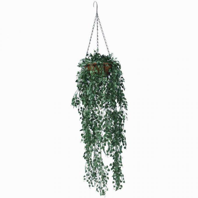 Artificial hanging pot plant