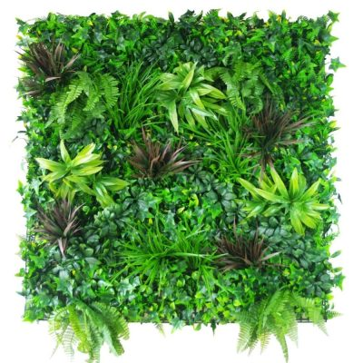 Artificial Plants - Coastal Greenery Vertical Garden Green Wall UV Resistant 100cm x 100cm