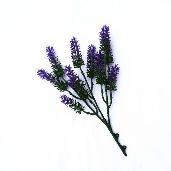 Artificial Small lavender Wall Plant details 1
