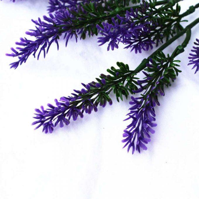 DLVS-111 26cm Artificial Small lavender Wall Plant details 2