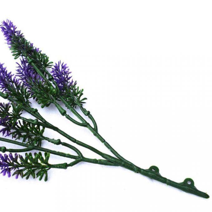 DLVS-111 26cm Artificial Small lavender Wall Plant details 3