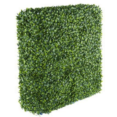 Portable Jasmine Artificial Hedge Plant UV Resistant 75cm x 75cm