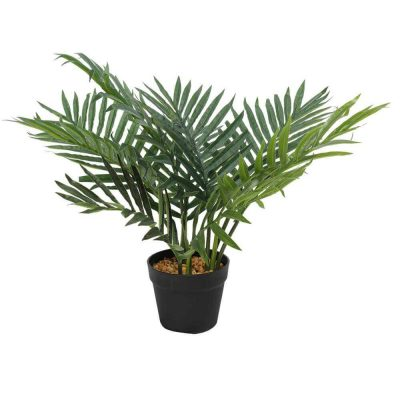 artificial small potted fern plant