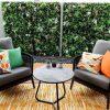 After Wild Tropics Vertical Garden Install