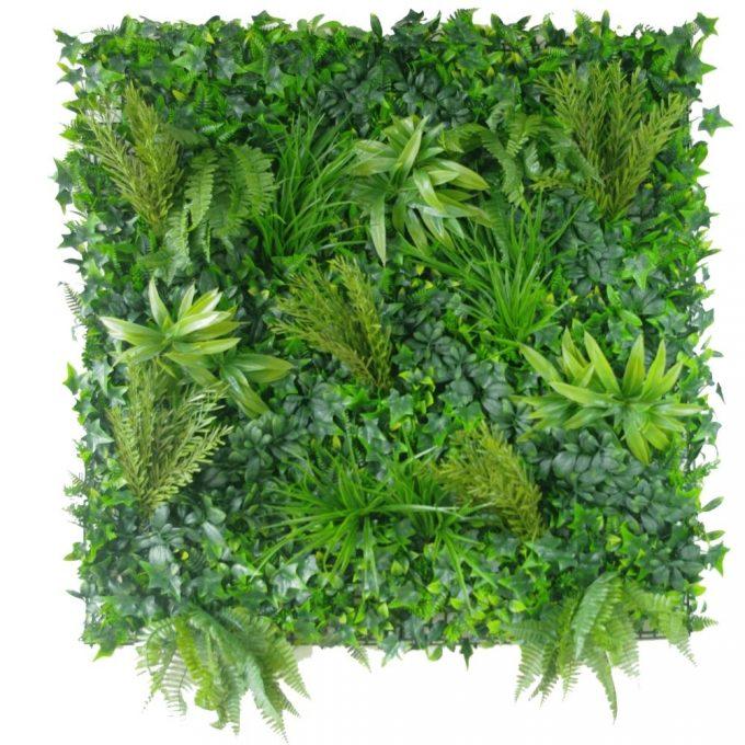 Artificial Plant-Native Tea Tree Vertical Garden / Green Wall UV Resistant SAMPLE