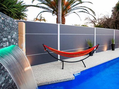 Boundary fence options for your home - fence around pool