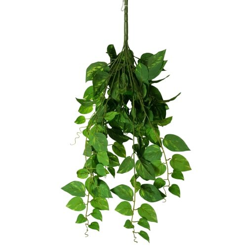 Artificial Heart Leaf Philodendron Hanging Creeper Bush 73cm