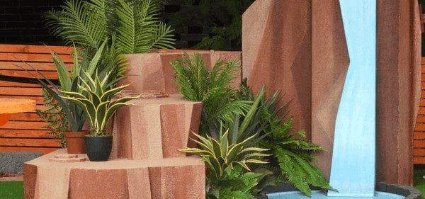Artificial plant ideas for events - event ideas and inspiration pixar display of fake plants