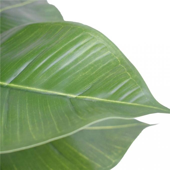 Artificial Potted Rubber Plant Details
