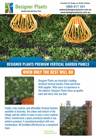 Designer plants fake green walls, hedges and plants in melbourne with fire proof green walls and vertical garden