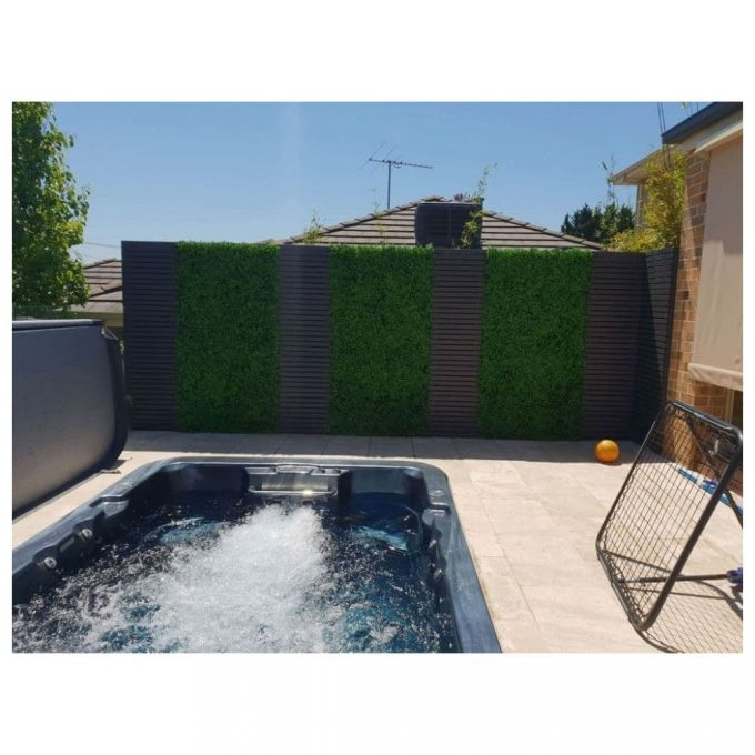 Artificial Plant - Deluxe Buxus Hedge Panels UV Resistant 1m x 1m