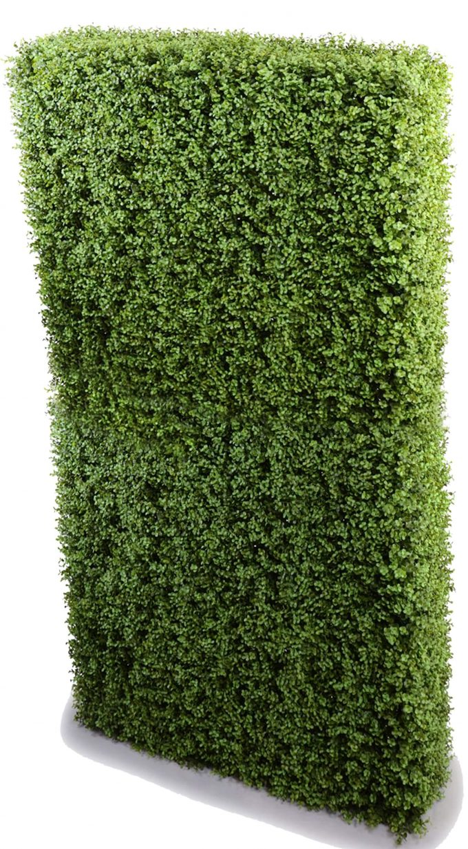 Fake tall artificial hedge