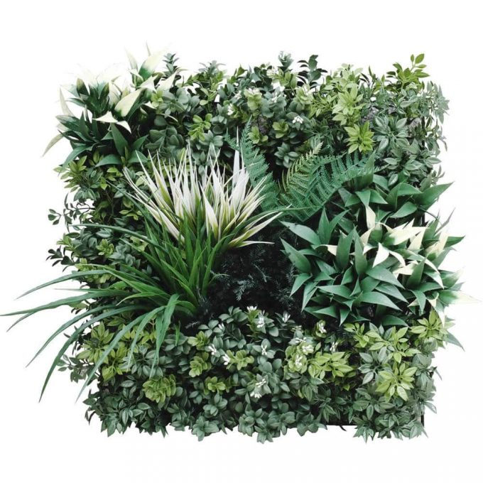Bespoke green wall panel sample