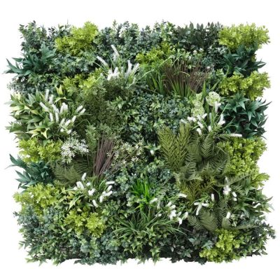 Premium realistic green wall panel