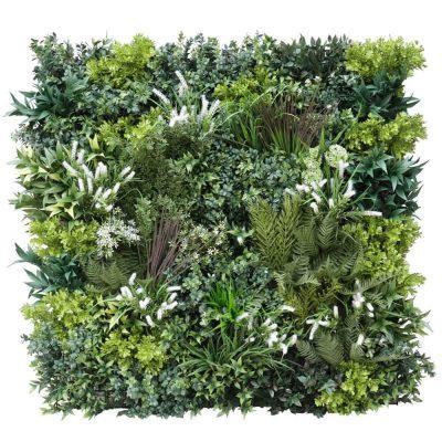Premium realistic green wall panel