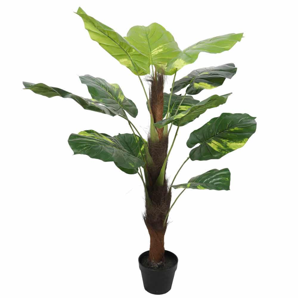 Artificial Potted Pothos Plant With Pole 100cm Designer Plants