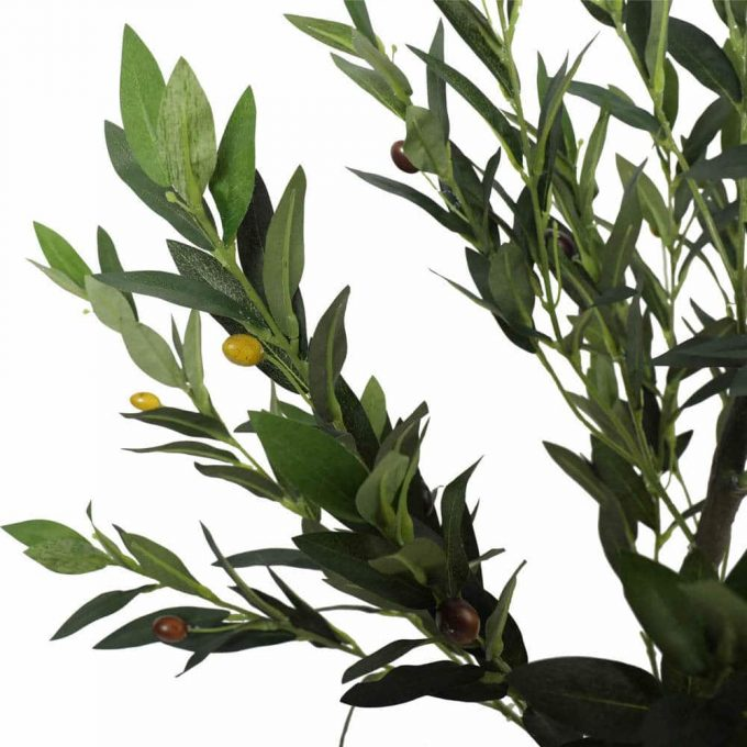 Foliage - Artificial Olive Tree with Olives 125cm