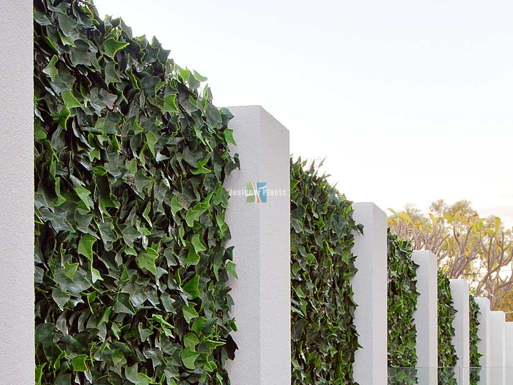 Artificial green wall screen