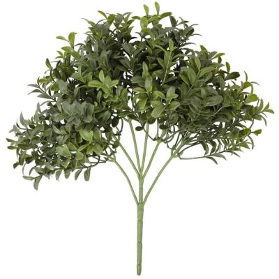 Dense Artificial Buxus Foliage