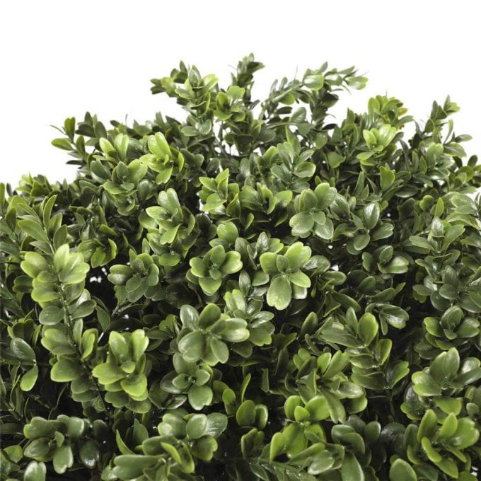artificial topiary shrub buxus leaves