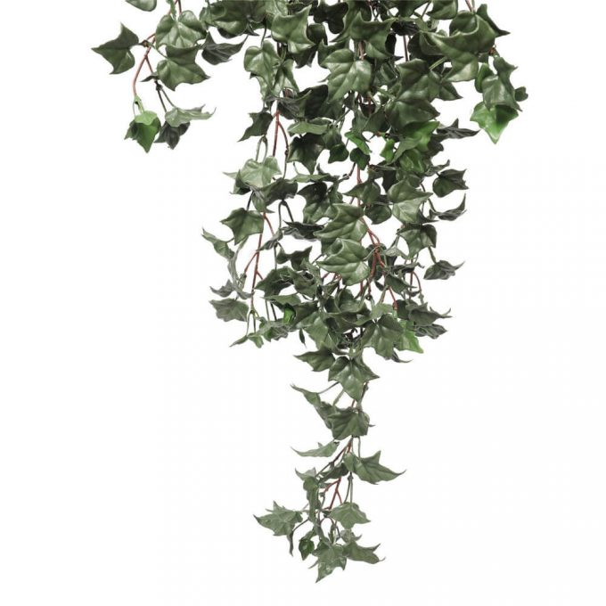 dark green artificial ivy bush leaves