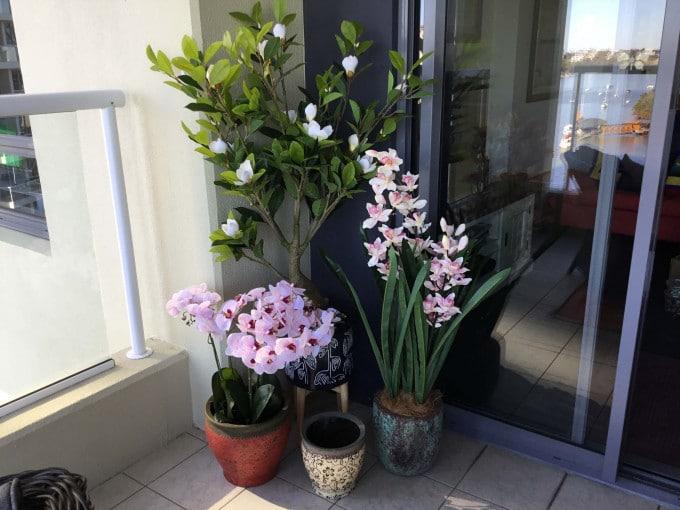 Balcony Artificial Plants