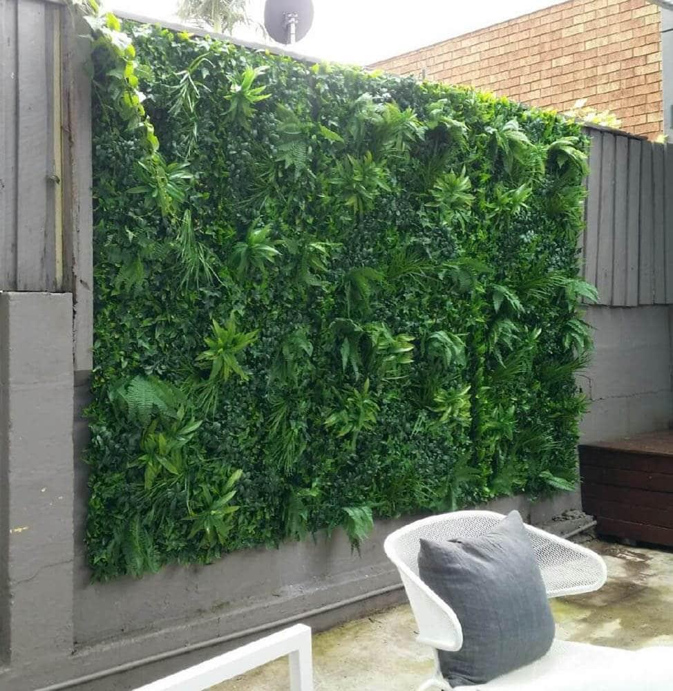 green tropics green wall panels
