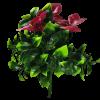 artificial flowering purple plant