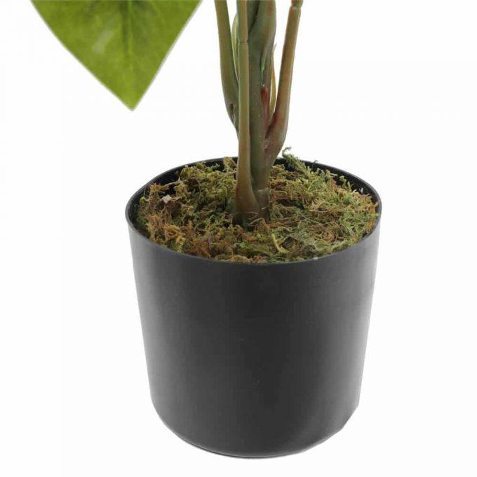 pot - artificial potted umbrealla tree